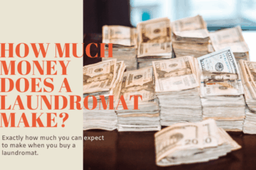 how much money does a laundromat make?