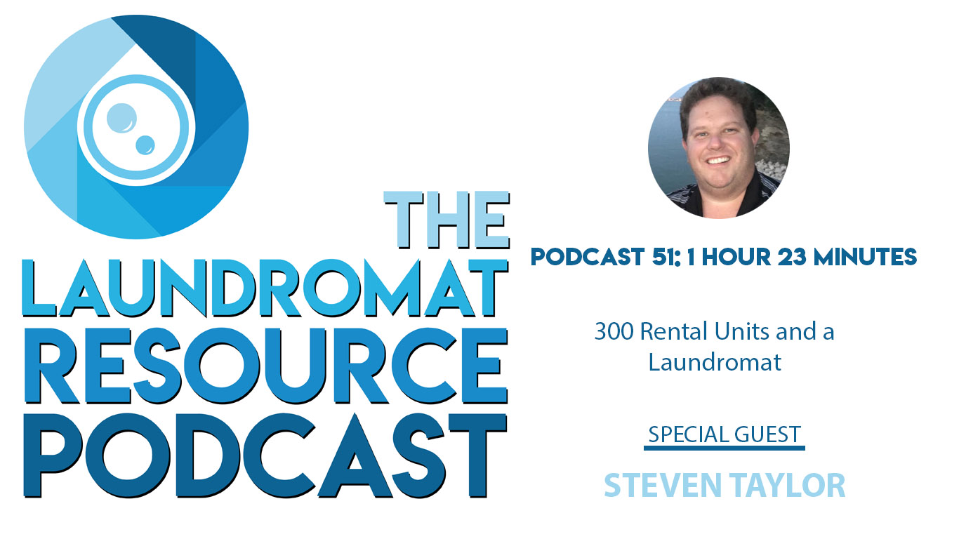 51. 300 Rental Units and a Laundromat with Steven Taylor